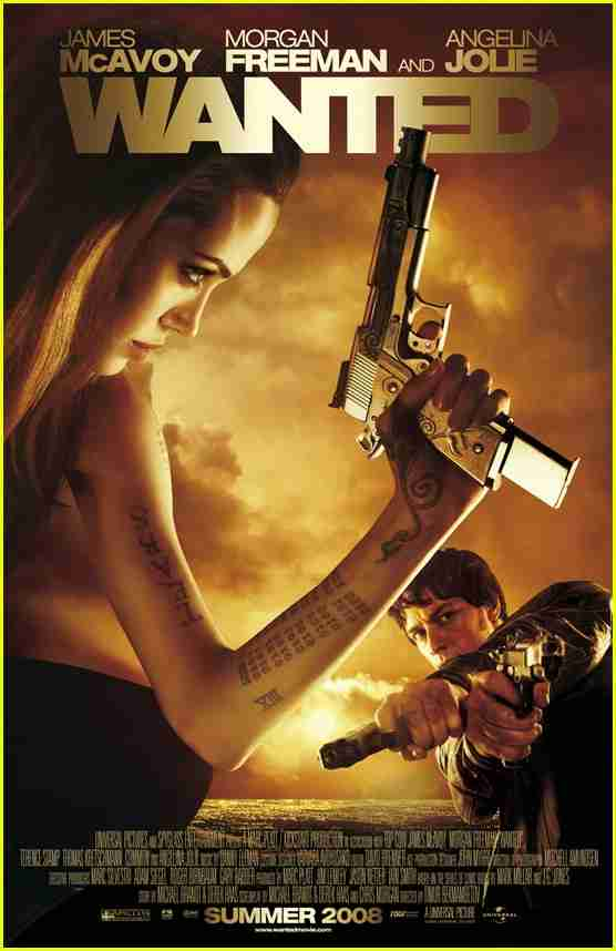 Review: Angelina Jolie And James McAvoy In WANTED - Movies ...