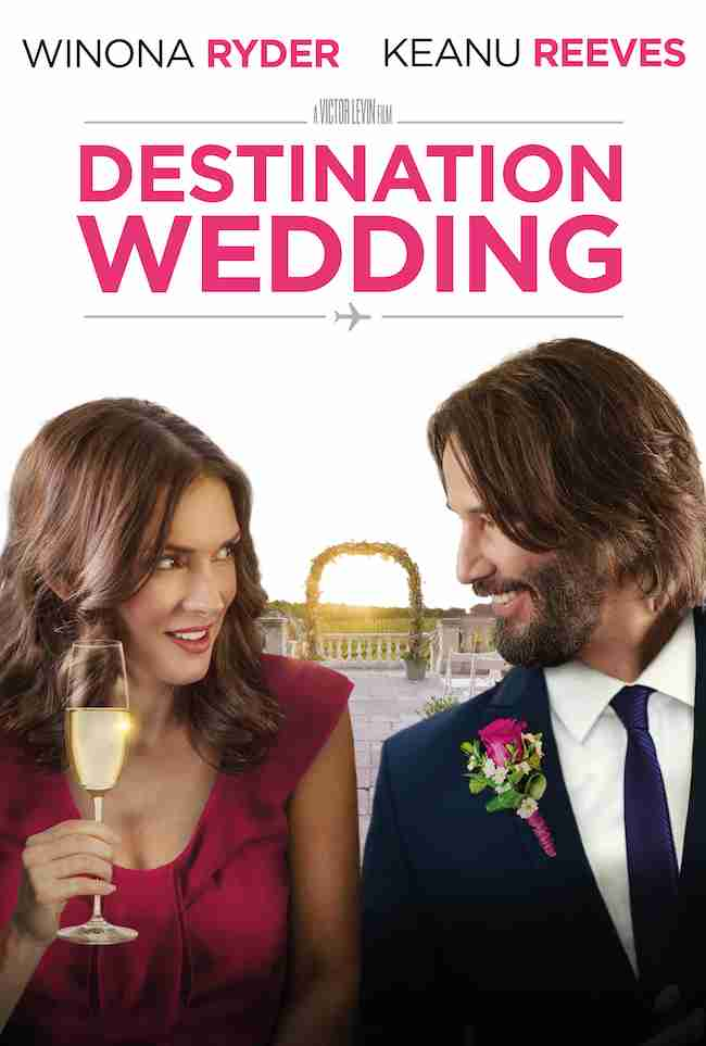 Destination Wedding Review.Review Keanu Reeves Winona Ryder Trade Barbs In Rom Com